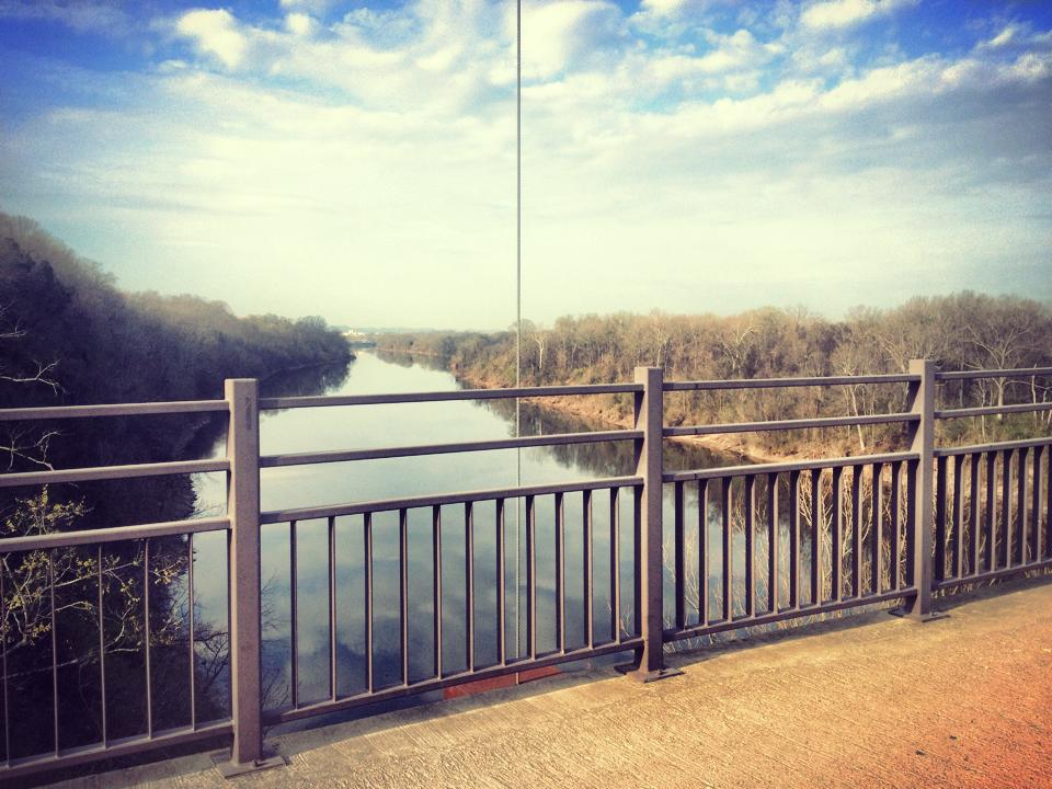 Cumberland River Pedestrian Bridge.