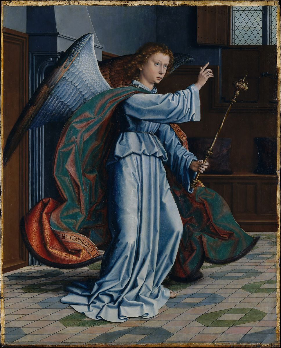 The Annunciation (1506) Gerard David, The Metropolitan Museum of Art, Bequest of Mary Stillman Harkness, 1950